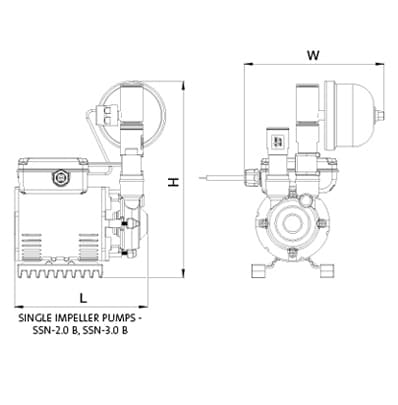 Amazon Universal Single CAD drawing